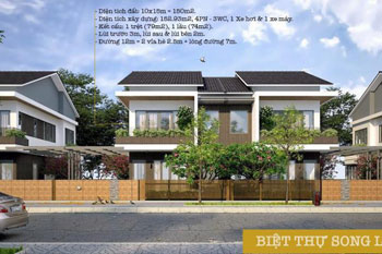 Biệt thự song lập ( Semi – detached)