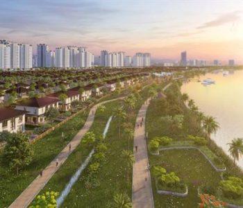 MÂT ĐỘ DÂN CƯ TẠI KĐT WATERPOINT XẤP XỈ SINGAPORE